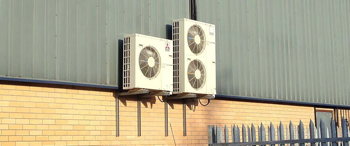 air conditioning outside unit. outside air conditioning unit