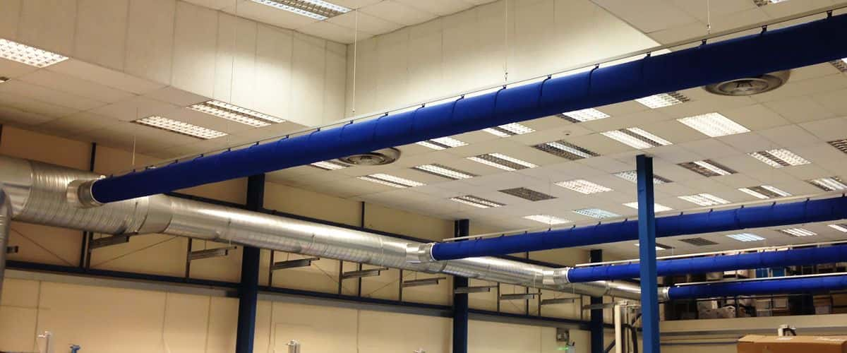 Industrial fitting of air conditioning