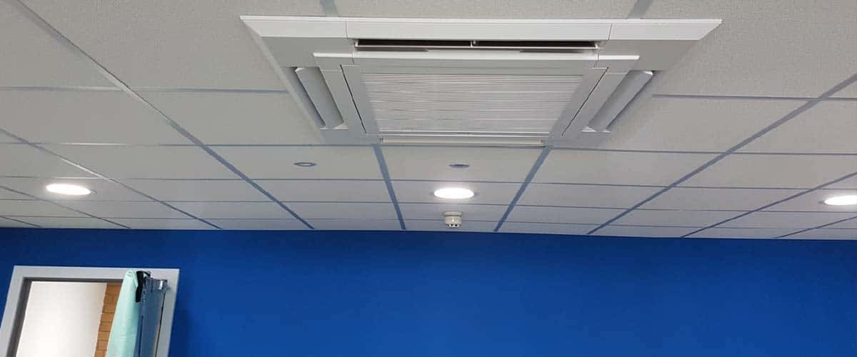 Commercial air conditioning fitted