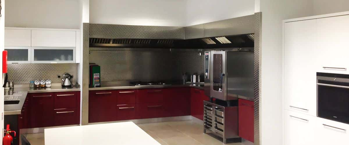 Kitchen with bespoke ventilation