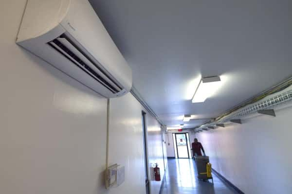 An image of an industrial air conditioning unit.