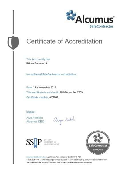 SC Certificate - 19112018